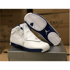 AIR JORDAN 18 RETRO WHITE SPORT ROYAL AA2494-106