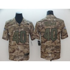 Arizona Cardinals #40 Pat Tillman Camo Salute To Service Limited Nike NFL Men Jersey