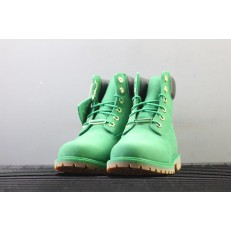 TIMBERLAND 6 INCH PRM LEATHER BOOTS WINTER CELTIC GREEN A1IPD