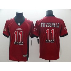 Arizona Cardinals #11 Larry Fitzgerald Red Drift Fashion Limited Nike NFL Men Jersey