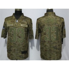 Los Angeles Chargers #33 Derwin James Camo Salute To Service Limited Nike NFL Men Jersey