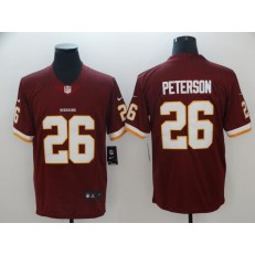 Washington Redskins #26 Adrian Peterson Red Vapor Untouchable Limited Nike NFL Men Jersey