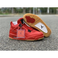 AIR JORDAN 4 RETRO FIRE RED GUM SINGLES DAY AV3914-600