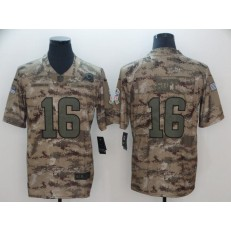 Los Angeles Rams #16 Jared Goff Camo Salute To Service Limited Nike NFL Men Jersey