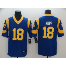 Los Angeles Rams #18 Cooper Kupp Royal Vapor Untouchable Limited Nike NFL Men Jersey