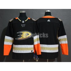 Anaheim Ducks Blank Black Adidas NHL Men Jersey