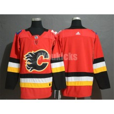 Calgary Flames Blank Red Adidas NHL Men Jersey