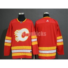 Calgary Flames Blank Red Alternate Adidas Men Jersey