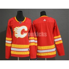 Calgary Flames Blank Red Youth Adidas Jersey