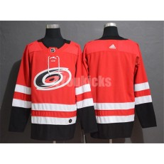 Carolina Hurricanes Blank Red Adidas NHL Men Jersey
