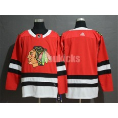 Chicago Blackhawks Blank Red Adidas NHL Men Jersey