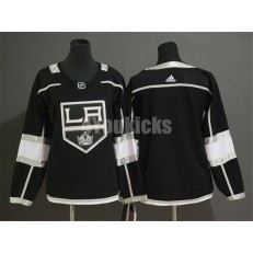 Los Angeles Kings Blank Black Women Adidas Jersey
