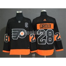 Philadelphia Flyers #28 Claude Giroux Black Alternate Adidas Men Jersey