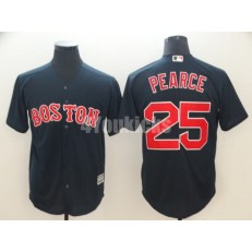 MLB Boston Red Sox #25 Steve Pearce Navy Cool Base Men Jersey