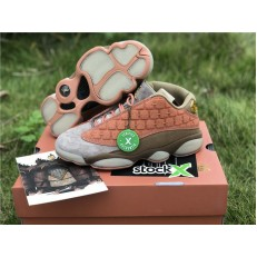CLOT x AIR JORDAN 13 LOW TERRACOTTA WARRIORS AT3102-200