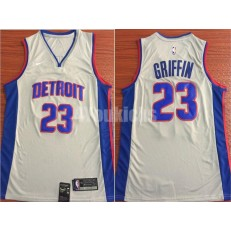 Detroit Pistons #23 Blake Griffin Gray Nike Swingman Men Jersey