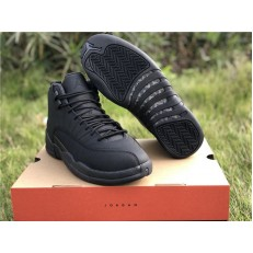 AIR JORDAN 12 RETRO WINTERIZED TRIPLE BLACK BQ6851-001