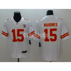 Youth Nike Kansas City Chiefs #15 Patrick Mahomes White Vapor Untouchable Limited Jersey