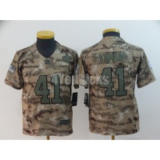 Youth Nike New Orleans Saints #41 Alvin Kamara Camo Salute To Service Limited Jersey