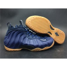 NIKE AIR FOAMPOSITE ONE MIDNIGHT NAVY GUM 314996-405