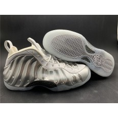 NIKE AIR FOAMPOSITE ONE SILVER AA3963-100