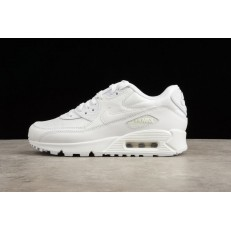 NIKE AIR MAX 90 ESSENTIAL TRIPLE WHITE 537384-111