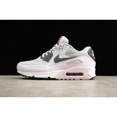 NIKE WMNS AIR MAX 90 ESSENTIAL PURE PLATINUM DARK GREY LILAC 616730-112