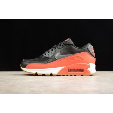 NIKE WMNS AIR MAX 90 ESSENTIAL RED BLACK 616730-025