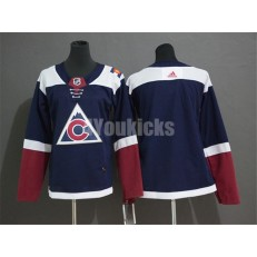 Colorado Avalanche Blank Navy Youth Alternate Adidas Jersey