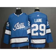 Winnipeg Jets #29 Patrik Laine Blue Alternate Adidas NHL Men Jersey