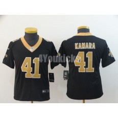 Youth Nike New Orleans Saints #41 Alvin Kamara Black Vapor Untouchable Limited Jersey