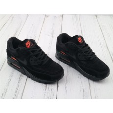 NIKE AIR MAX 90 LX BLACK RED 898512-008