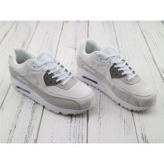 NIKE AIR MAX 90 LX WHITE LIGHT GREY 898512-100