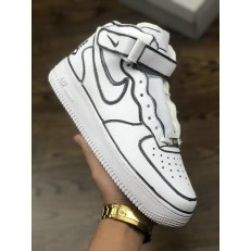 JOSHUA VIDES x REIGN x NIKE AIR FORCE ONE HI WHITE