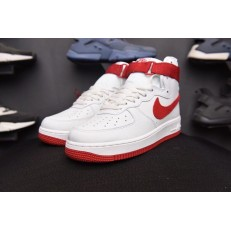 NIKE AIR FORCE 1 HI NAI KE SUMMIT WHITE 743546-100