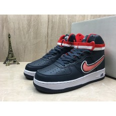 NIKE AIR FORCE 1 HI 07 LV8 SPORT NAVY WHITE UNIVERSITY RED AV3804-400