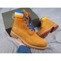 TIMBERLAND x MITCHELL & NESS x NBA GOLDEN STATE WARRIORS 6 INCH BOOT WHEAT A1UD5