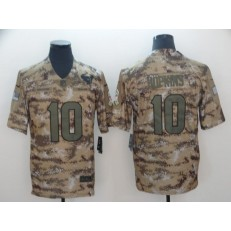 Houston Texans #10 DeAndre Hopkins Camo Salute To Service Limited Nike NFL Men Jersey