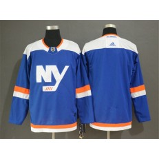 New York Islanders Blank Blue Alternate Breakaway Adidas NHL Men Jersey