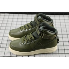 NIKE AIR FORCE 1 HI UT OLIVE AH7311-300