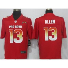 Los Angeles Chargers #13 Keenan Allen Red Nike AFC 2019 Pro Bowl Limited Jersey