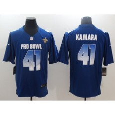 New Orleans Saints #41 Alvin Kamara Royal Nike NFC 2019 Pro Bowl Game Jersey