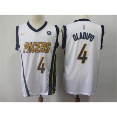 Indiana Pacers #4 Victor Oladipo White 2018-19 Earned Edition Nike Swingman Jersey