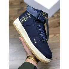 2018 MAHARISHI X NIKE AIR FORCE 1 HI PRM ID NAVY GUM CI3900-992