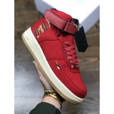 2018 MAHARISHI X NIKE AIR FORCE 1 HI PRM ID RED CI3900-991