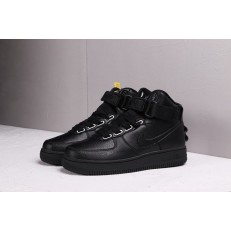 NIKE AIR FORCE 1 HI 07 TRIPLE BLACK AJ7311-001