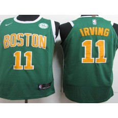 Boston Celtics #11 Kyrie Irving Green 2018-19 Earned Edition Nike Authentic Jersey