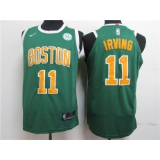 Boston Celtics #11 Kyrie Irving Green Nike Authentic Jersey