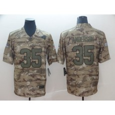 Los Angeles Rams #35 C.J. Anderson Camo Salute To Service Limited Nike NFL Men Jersey