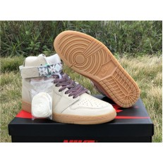 AIR JORDAN 1 RETRO HI STRAP N7 LIGHT CREAM AR4410-207